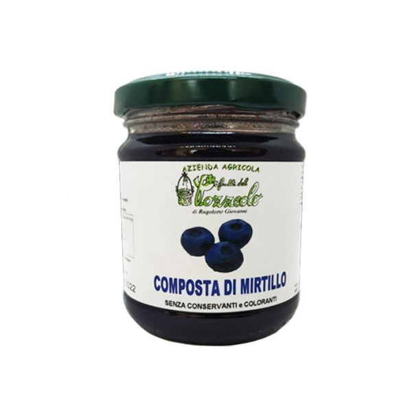 Composta di Mirtillo - I Frutti del Pozzeolo