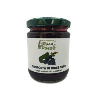 Composta di Ribes nero - I Frutti del Pozzeolo