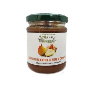 Confettura Extra di Pere e Cannella - I Frutti del Pozzeolo