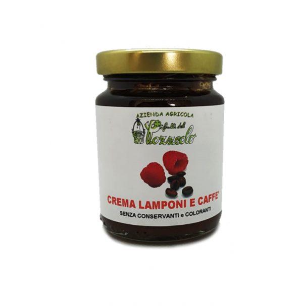 Crema di Lamponi e Caffe - I Frutti del Pozzeolo