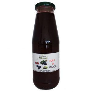 Nettare di Frutti Misti Red & Black 200ml - I Frutti del Pozzeolo