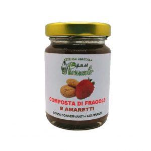 Composta di Fragole e Amaretti - Specialità de I Frutti del Pozzeolo